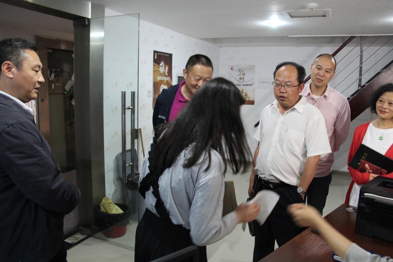 李志刚书记、傅明总督学督查、调研普通话测试